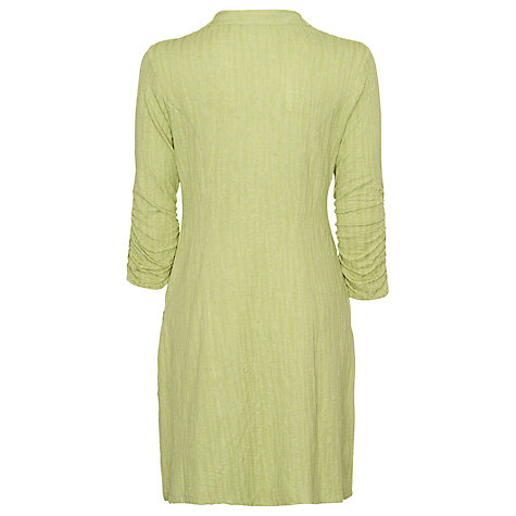 Buy James Lakeland Cowl Neck Stripe Dress, Pistachio Online at johnlewis.com