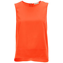 Buy Whistles Summer Vest Top, Orange Online at johnlewis.com