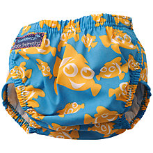 Buy Konfidence Clown Fish Aqua Nappy, Blue Online at johnlewis.com