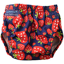 Buy Konfidence Strawberry Aqua Nappy, Red Online at johnlewis.com