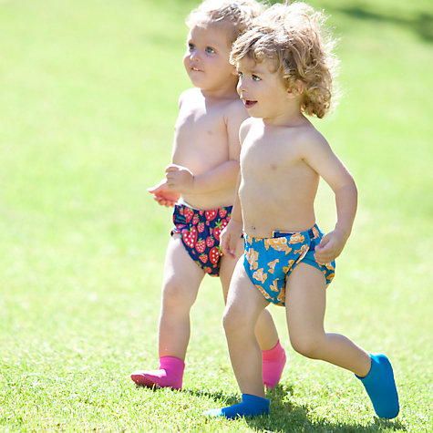 Buy Konfidence Strawberry Aqua Swim Nappy, Red Online at johnlewis.com