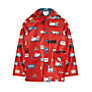 Hatley Boys' Trains Raincoat, Red