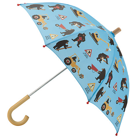 Buy Hatley Bears Work Umbrella, Blue/Multi Online at johnlewis.com