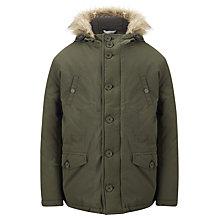 Buy Ben Sherman Boys' Parka Coat, Khaki Online at johnlewis.com