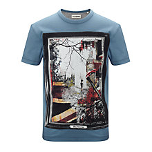 Buy Ben Sherman Boys' Union Jack T Shirt, Blue Online at johnlewis.com