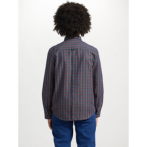Buy Ben Sherman Boys' Long Sleeve Checked Shirt Online at johnlewis.com