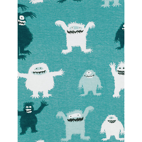 Buy Hatley Boys' Ice Monsters Pyjamas, Green Online at johnlewis.com