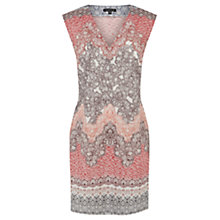 Buy Warehouse Ombre Floral Shift Dress, Multi Online at johnlewis.com