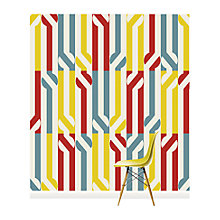 Buy Surface View Stripey Circle Wall Mural, 240 x 265cm Online at johnlewis.com
