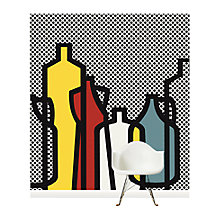 Buy Surface View Pop Bottles Black Wall Mural, 240 x 265cm Online at johnlewis.com