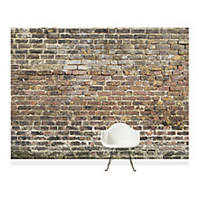 Buy Surface View Old Bricks Wall Mural, 360 x 265cm Online at johnlewis.com