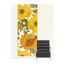 Buy Surface View Summer Poppies Wall Mural, 100 x 265cm Online at johnlewis.com