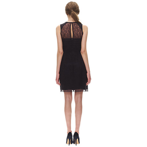 Buy Whistles Narcisse Lace Short Dress, Navy Online at johnlewis.com