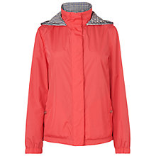 Buy Aquascutum Reversible Hooded Jacket, Red Online at johnlewis.com