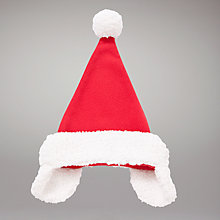 Buy John Lewis Baby Santa Hat, Red Online at johnlewis.com
