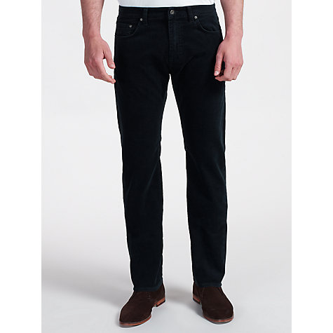 Buy Gant Comfort Stone Cord Trousers, Navy Online at johnlewis.com