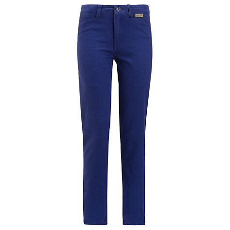 Buy Ben Sherman Boys' Chinos, Blue Online at johnlewis.com