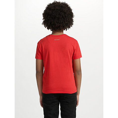 Buy Ben Sherman Boys' Brighton T Shirt, Red Online at johnlewis.com