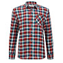 Ben Sherman Boys' Long Sleeve Checked Shirt, Red/Multi