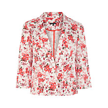 Buy Warehouse Flower Print Jacket, Multi Online at johnlewis.com
