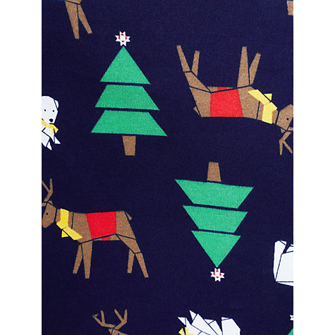 Buy John Lewis Boy Reindeer Pyjamas, Pack of 2, Multi Online at johnlewis.com