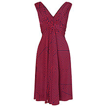 Buy Phase Eight Iris Striped Dress, Navy/Coral Online at johnlewis.com