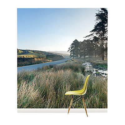 Surface View Forest of Bowland Wall Mural, 240 x 265cm