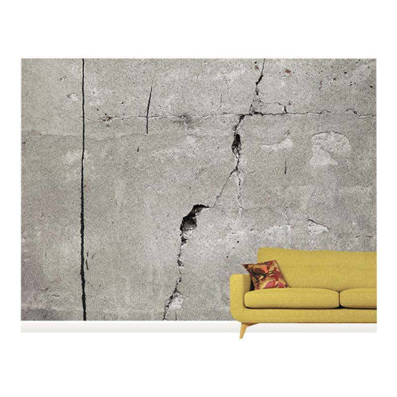 Surface View Surface View Cracked Concrete Wall Mural, 360 x 265cm