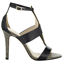 Buy Whistles Bellini Panelled Heeled Sandals Online at johnlewis.com