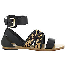 Buy Whistles Bay Breeze Gladiator Sandals, Black Online at johnlewis.com