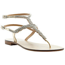 Buy Dune Kart Embellished Sandals Online at johnlewis.com