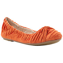 Buy Dune Mystify Fold Up Ballerina Shoes Online at johnlewis.com