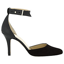 Buy Whistles Alibi Ankle Strap Heels, Black Online at johnlewis.com