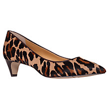 Buy Nine West Fanesa5 Kitten Heels, Leopard Online at johnlewis.com