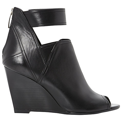 Buy Dune Gracy Heeled Leather Shoe Boots Online at johnlewis.com