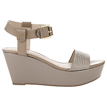 Buy Whistles Lagoon Wedged Sandals Online at johnlewis.com