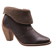 Buy J Shoes Saloon Ankle Boots, Brown Online at johnlewis.com