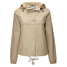 Buy NW3 by Hobbs Cagoule Jacket, Cornsilk Beige Online at johnlewis.com