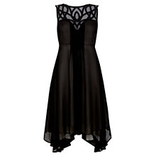 Buy Mint Velvet Cornelli Dress, Black Online at johnlewis.com