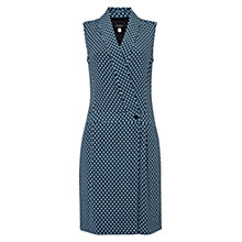 Buy Hobbs Collins Dress, Navy/Multi Online at johnlewis.com