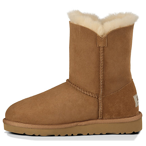 Buy UGG Bailey Button Boots, Chestnut Online at johnlewis.com