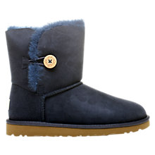 Buy UGG Bailey Button Boots, Navy Blue Online at johnlewis.com