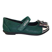 Buy Lelli Kelly Papillon Shoes, Green Online at johnlewis.com