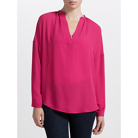 Buy Kin by John Lewis Gathered Dropped Shoulder Shirt Online at johnlewis.com