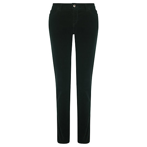 Buy Collection WEEKEND by John Lewis Skinny Corduroy Trousers, Bottle Green Online at johnlewis.com