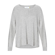 Buy Collection WEEKEND by John Lewis Swing Sweat Jumper, Pale Grey Online at johnlewis.com