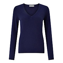 Buy John Lewis Cashmere V-Neck Jumper Online at johnlewis.com