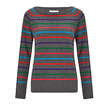 Buy Collection WEEKEND by John Lewis Rainbow Stripe Jumper, Multi Online at johnlewis.com