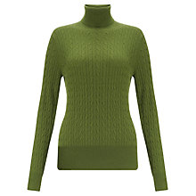 Buy John Lewis Cable Roll Neck Sweater Online at johnlewis.com