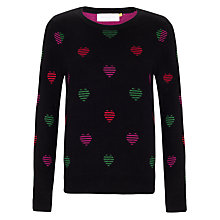 Buy Collection WEEKEND by John Lewis Mini Heart Jumper, Multi Online at johnlewis.com